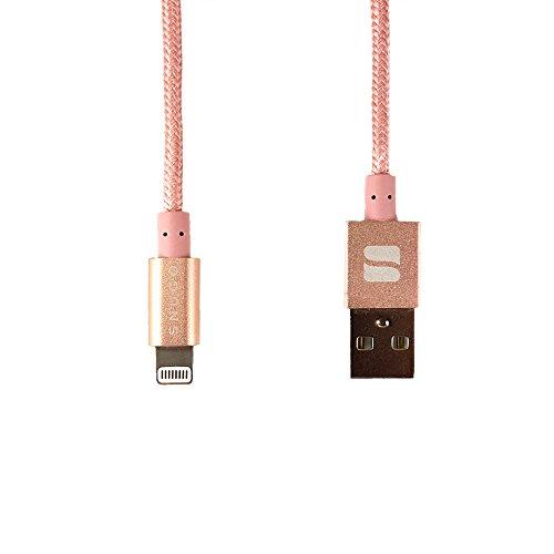cavo-lightning-snugg-apple-iphone-usb-lightning-nylon-corto-caricabatterie-certificato-mfi-apple-1m-