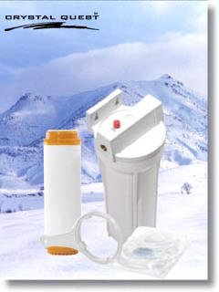 Crystal Quest Refrigerator In-Line Nitrate Multi Plus Water Filter System Nitrate Reduction