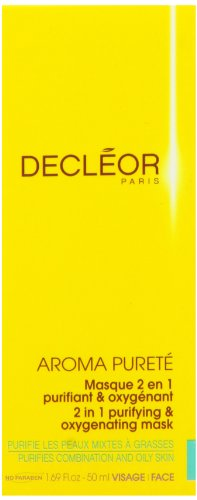 Decleor Aroma Purete 2 in 1 Purifying Maschera Esfoliante with Ylang Ylang Essential Oil - 50 ml