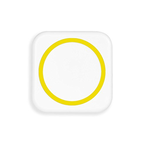 Wireless Charging Pad For Samsung Note 3 ,Jokeret Portable Wireless Charger Power Bank With Receiver White And Yellow