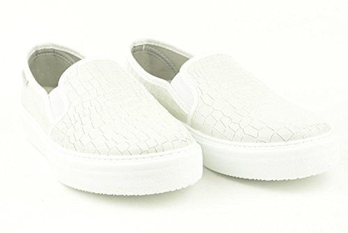 VICTORIA Slip-on ecopelle bianco TG 38