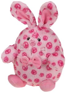 Grriggles Bowtie Buddy Bunny Pet Toy