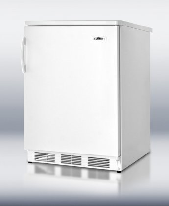 5.5 cu. ft. All-Refrigerator With Automatic Defrost Hidden Evaporator Adjustable Shelves Door Storage Interior Light Adjustable Thermostat Reversible Door & In Black
