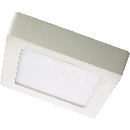 Generic 18W Led Square Surface Mounted Panel Light Cool White 90 Smd2853 Ac90-265V Color White