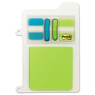 "Post-It - 4 Pack - Mobile Attach & Go Refillable Insert Bright Bl Gn 40 Ea Standard/Arrow 1 3X3 ""Product Category: Labels Indexes & Stamps/Tape Flags"" from Original Equipment Manufacture"
