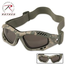 Army Digital Camo Ventec Tactical Goggle