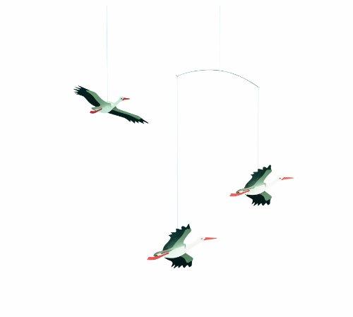 Flensted Mobiles Nursery Mobiles, Danish Lucky Storks