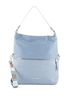 Esprit Womens 034EA1O032 Shoulder Bag Blue Blau (SMOKED SKY 064) Size: 34x40x10 cm (B x H x T)
