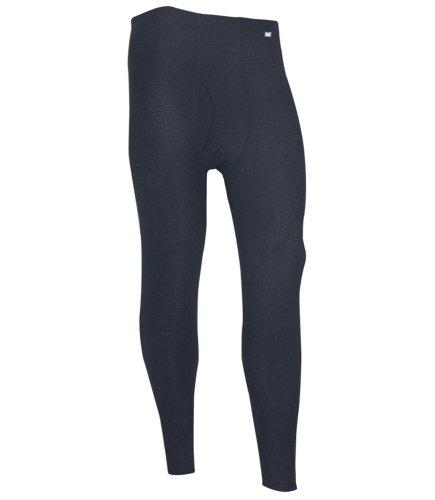 Top Polarmax Men's Quattro Fleece Pant (Black, Large)