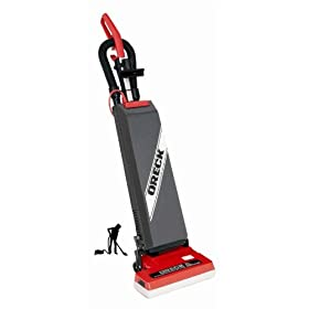 ORECK Dual Motor Upright Commercial Vacuum with On-Board Tools