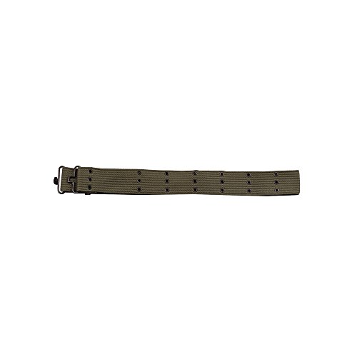 Rothco Canvas Pistol Belt, Olive Drab, 42