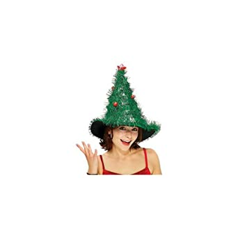Adult's Light Up Christmas Tree Costume Hat
