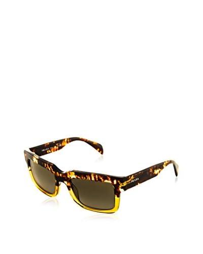 Prada Women's PR01QS Sunglasses, Brown/Brown