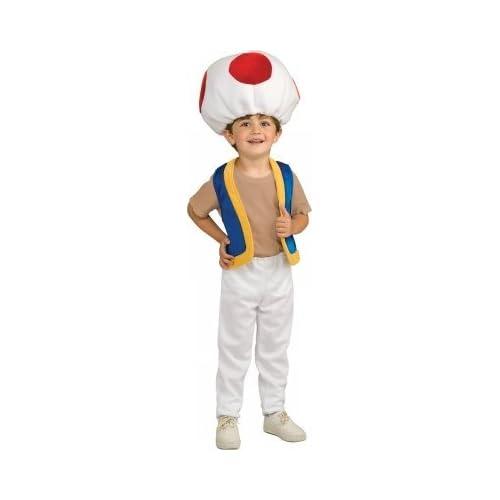 Rubies Costumes 185907 Super Mario Bros.  Toad Child Costume
