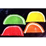 DiabeticFriendly® Sugar Free Assorted Fruit Fruit Slices, Orange, Cherry, Lime & Lemon, Individually Wrapped, 1lb Bag