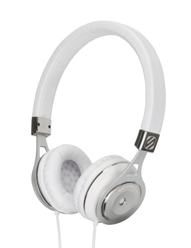 Scosche Rh656M Realm On - Ear Headphones With Tapline Iii - Retail Packaging - White