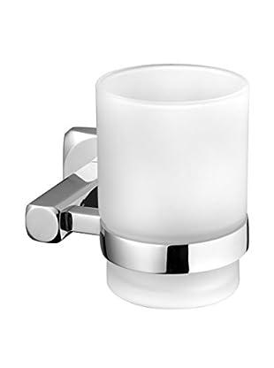 Bisk Vaso Baño Ice Tumbler cromo 18.5x18.5x9.5 cm
