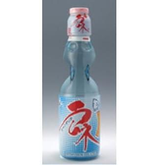 ハタ鉱泉 瓶ラムネ 瓶 200ml x 60個