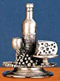 Collectible Pewter Wine Stopper – Wine and Cheese