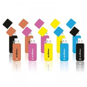 10-Pack Integral 16GB Neon USB Flash Drives