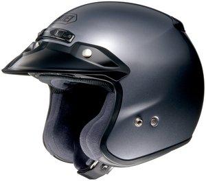 SHOEI RJ PLATINUM R SERIES CRUISER PEARL GRAY SIZE:XXL Motorcycle Open-Face-Helmet