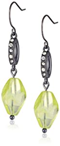 """Kenneth Cole New York """"Limelight"""" Faceted Bead Drop Earrings"""