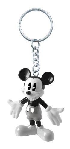 Disney Retro Mickey PVC Figural Key Ring