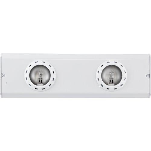 Ge 10231 Halogen Under Cabinet 2-Light Linkable Fixture, 13-Inch