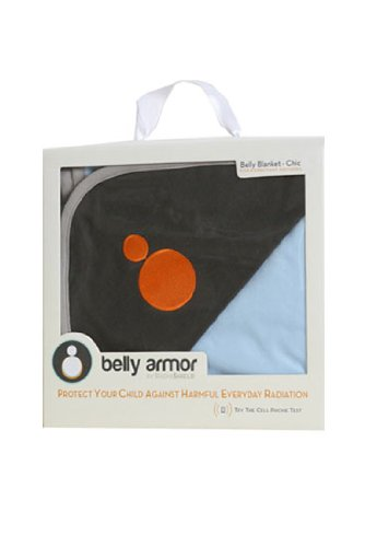 Protective Belly Blanket by Belly Armor (Blue)