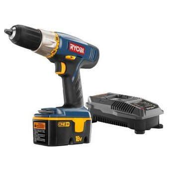 Factory-Reconditioned Ryobi Zrp852 18V Cordless One Plus Ni-Cd 1/2 In. Drill Kit