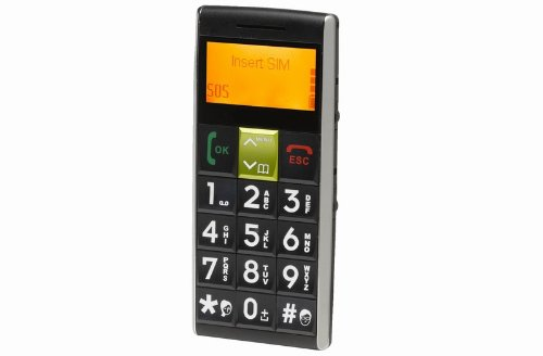 Senior mobile phone with big buttons, one touch SOS emergency call, dedicated torch & hands free speaker - Denver GSP-100 Reviews