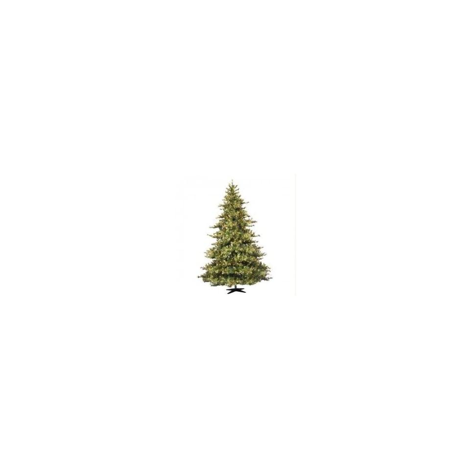 10 Pre Lit Mixed Country Pine Christmas Tree   Clear Lights