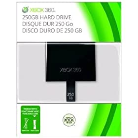 Super Preis: Xbox 360 250GB Festplatte für nur 49€ inkl. Versand