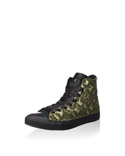 Converse Sneaker Alta [Verde Camouflage]