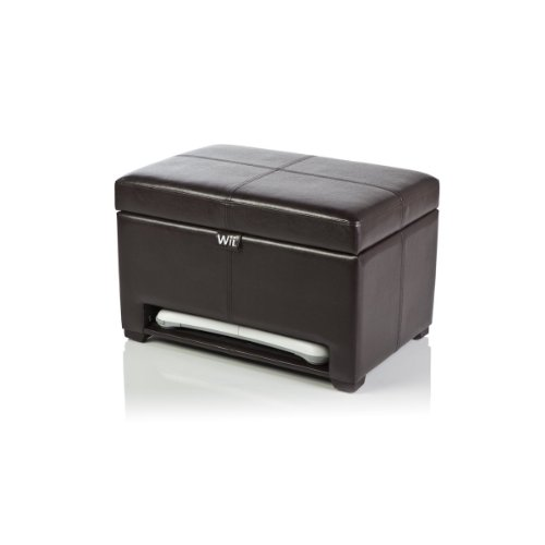 Level Up 222901-25-00 Wii Deluxe Storage Ottoman (Expresso)