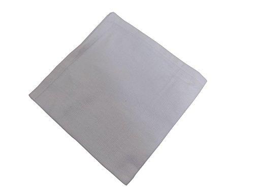 Serviette, weiss gewebt, 100% Baumwolle, 45 cm, passend zur Tischdecke