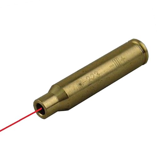 Global Sportsman Ar15 Ar-15 M4 M16 Rifle .223 5.56X45Mm Caliber Ammo Cartridge Laser Bore Sighter Boresight Boresighter - Batteries Included - Safety Practice Sight Alignment - Great For The Range And For Ensuring Your Gun Is Still Zeroed In After Travel