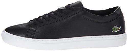 Lacoste Men's L.12.12 116 1 Fashion Sneaker, Black, 10.5 M US