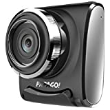 "PAPAGO GS200-US GoSafe 200 Full HD 1080P Clip Mount Dashcam with 2"" Sliding Display (Black)"