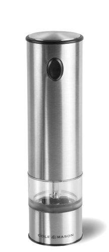 COLE & MASON Battersea Electric Salt and Pepper Mill with LED Light (Shaker Electronic compare prices)