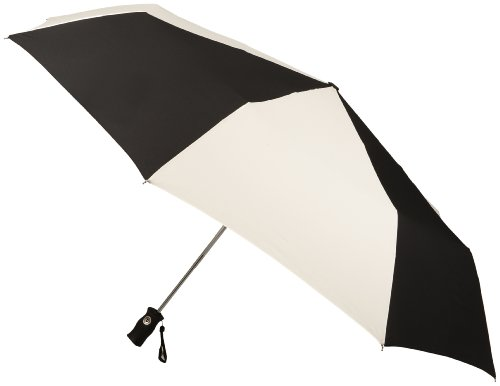 Totes Ladies Signature Golf Size Auto Open Auto Close Compact Umbrella