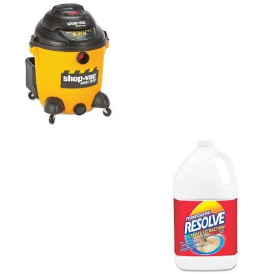 Kitrac97161Sho9625110 - Value Kit - Wet/Dry Vacuum, 12 1/2 Gallon (Sho9625110) And Professional Resolve Carpet Extraction Cleaner (Rac97161) front-530119
