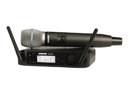 Shure Glxd24/B87A Digital Vocal Wireless System With Beta 87A Handheld Microphone, Z2