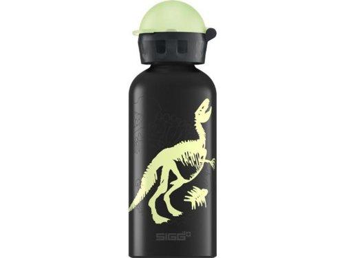 Sigg Primeval Glow Water Bottle (Black, 0.4-Litre) front-1003261