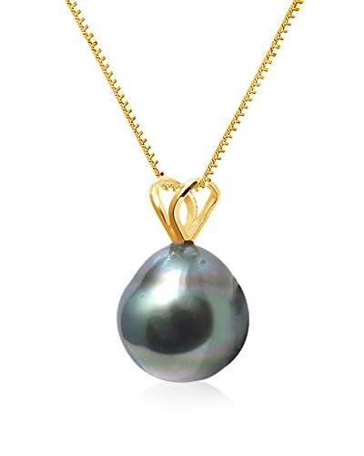 Pearl Addict Collar oro amarillo 18 ct