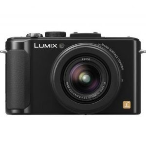 Panasonic LUMIX DMC-LX7K 10.1 MP Digital Camera with 7.5x Intelligent zoom and 3.0-inch LCD -  Black