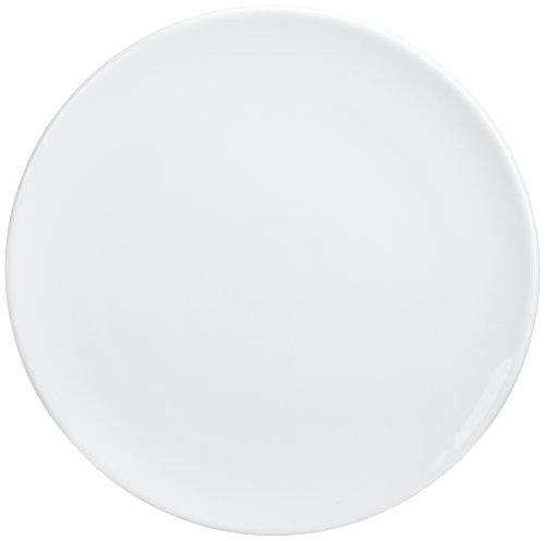 Kitchen Supply 8150 White Porcelain Pizza/Cake Plate 14 Inch Diameter