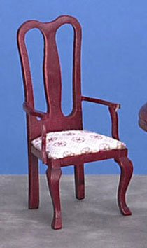 Dollhouse ARMCHAIR, MAHOGANY