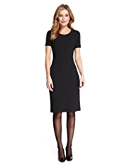 M&S Collection Lace Panel Shift Dress