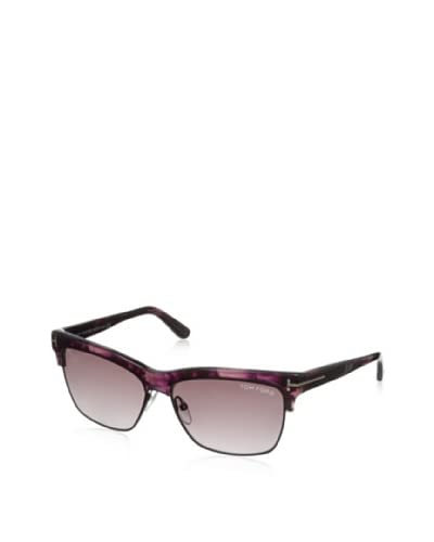 Tom Ford Montgomery Sunglasses, Violet Havana, 57-14-140